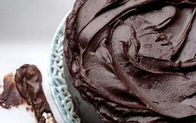 Chocolate orange fudge cake 2